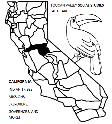 CALIFORNIA FACT CARDS